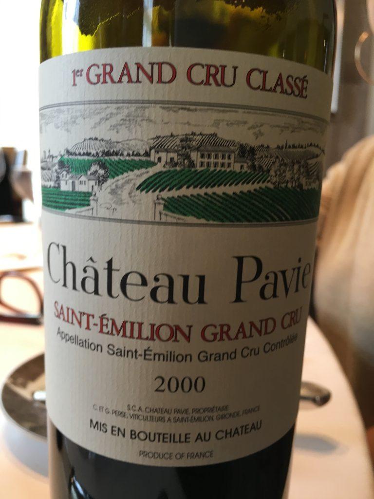 Château Pavie 2000 ©GP