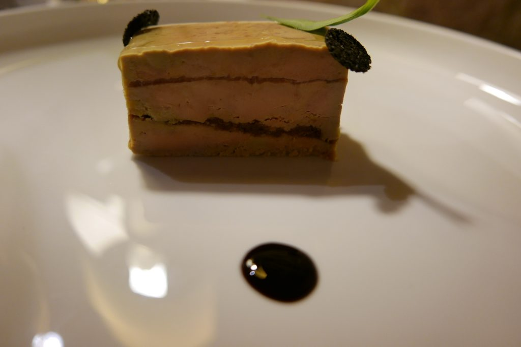 Opéra de foie gras et truite fumée © GP