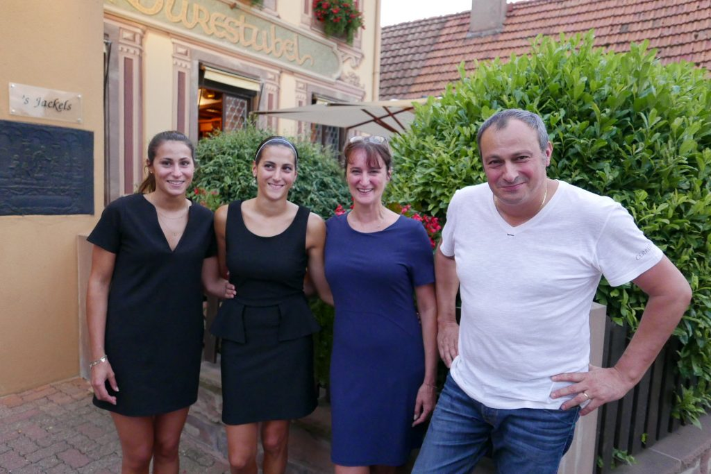 Eve, Sarah, Rachel et Pierre Meyer © GP