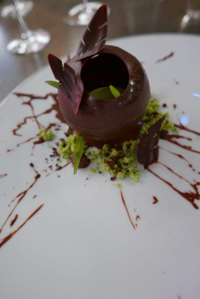 Chocolat et tagète © GP