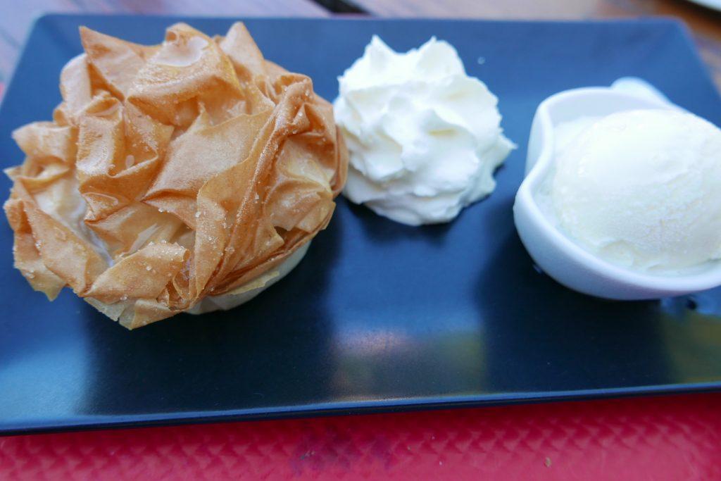 Pastis gascon et glace rhum/raisin © GP