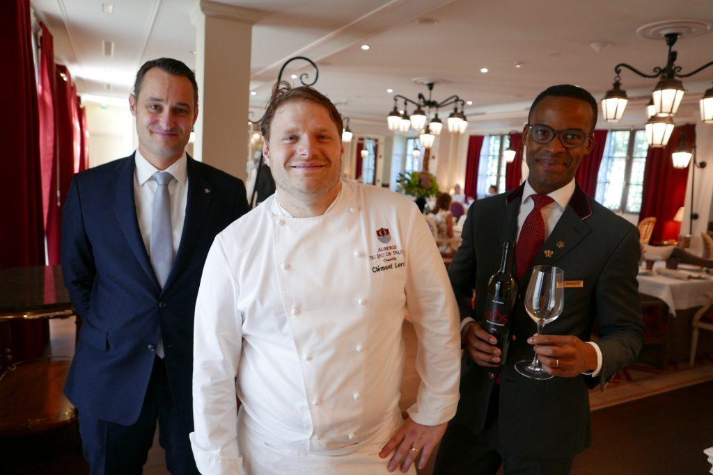 La Table Du Conn Table L 39 Auberge Du Jeu De Paume Restaurant Chantilly Leroy Chez Le