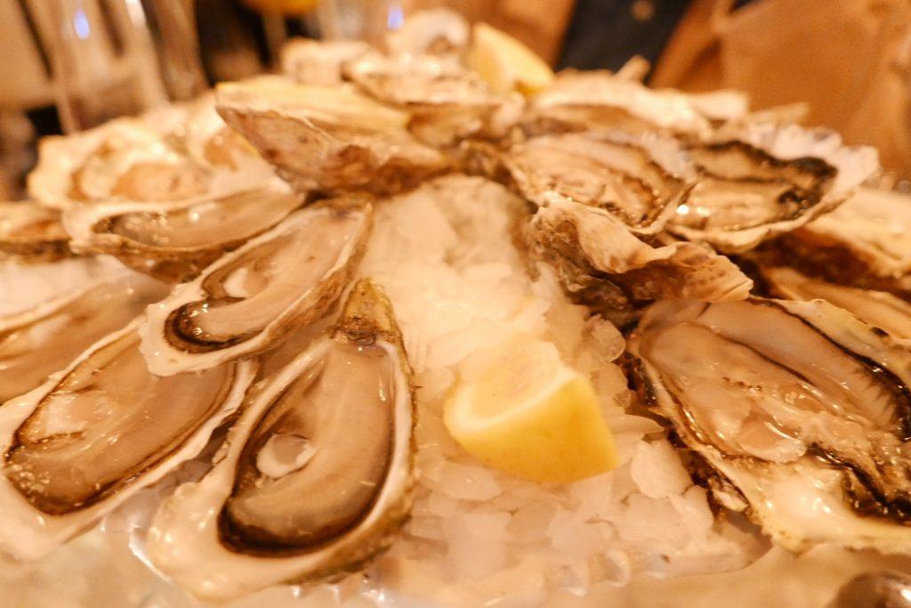 Assortiment d'huîtres © GP