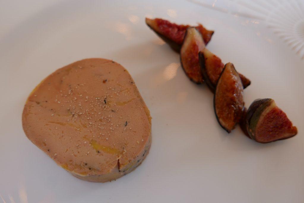 Foie gras et figues © GP