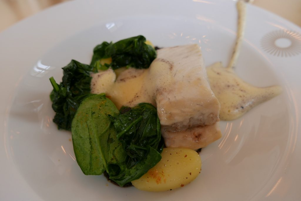 Turbot et hollandaise truffée © GP