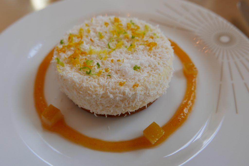 Gâteau au fromage blanc et agrumes ©GP