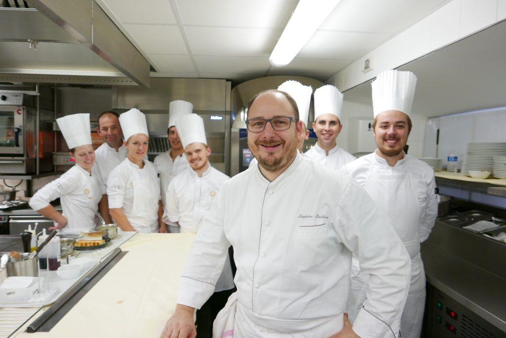 Stéphane Duchiron et la cuisine ©GP