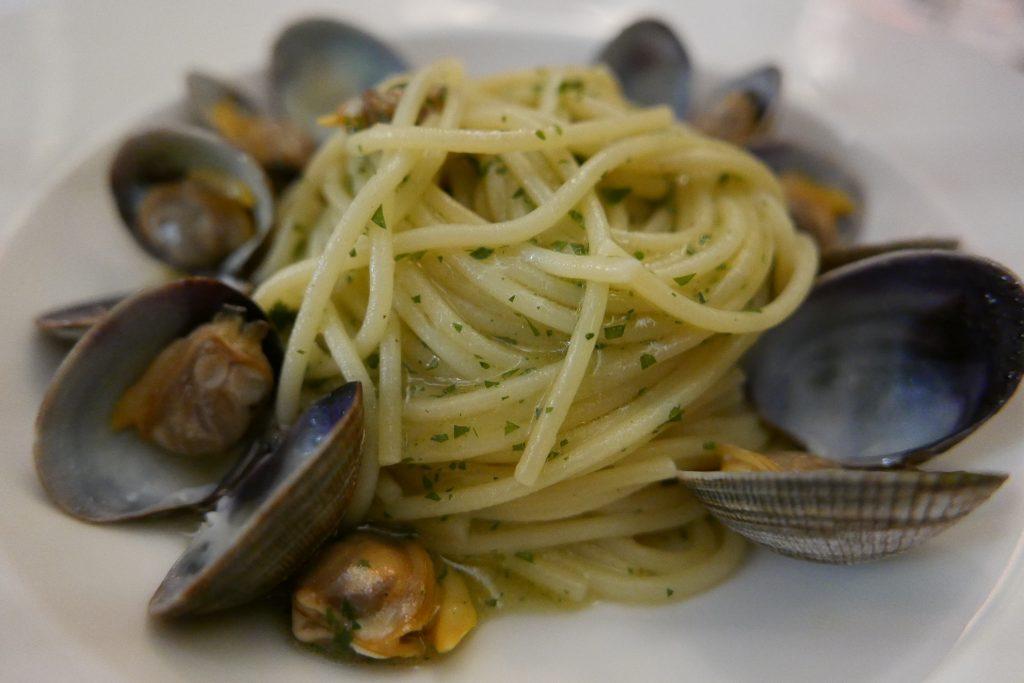 Spaghetti alle vongole © GP