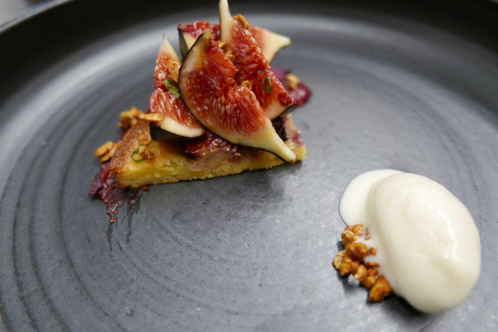 Figues de Solliès, noix du Périgord et glace feuille de figuier ©GP