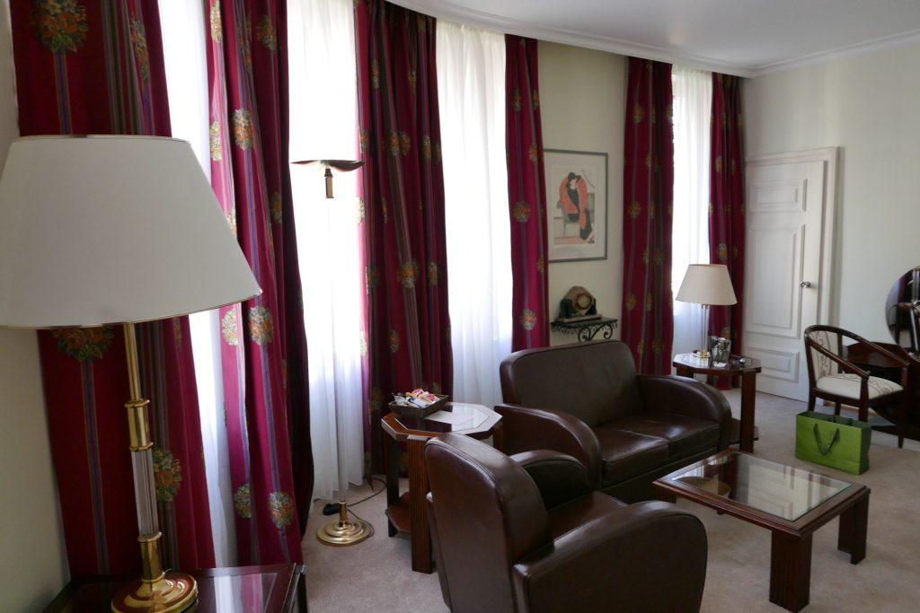 Salon d'une suite © GP