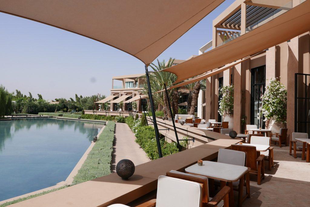 Terrasse et piscine extérieure © GP