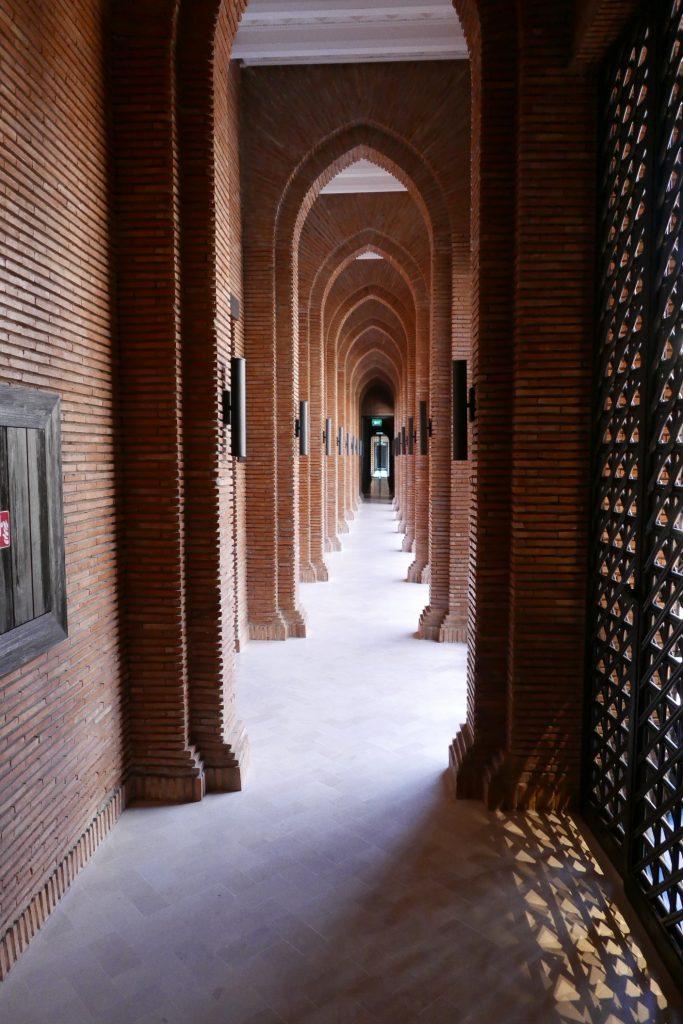 Couloir du spa © GP