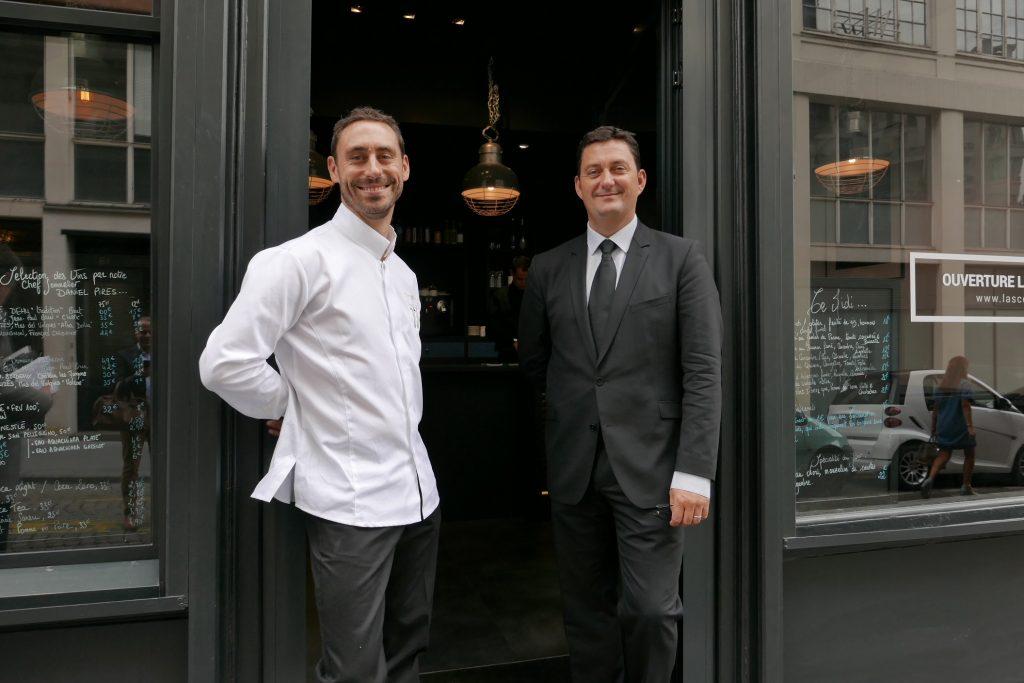 Pierre Rigothier et Frédéric Pedrono ©GP