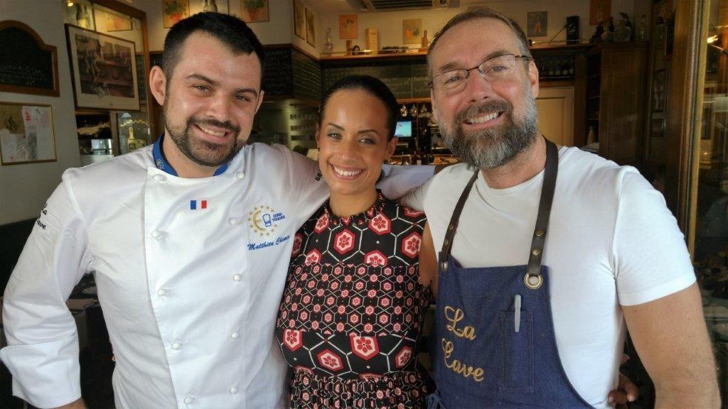 Mathieu, Alison et Pascal ©AA