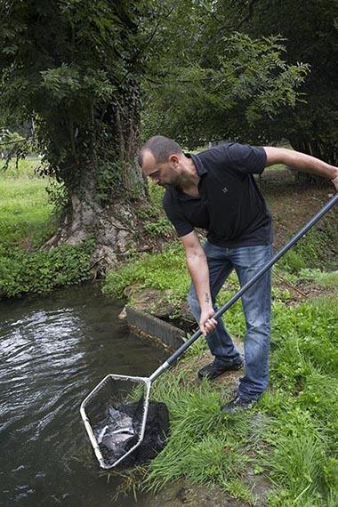 La pêche à l'étang © Maurice Rougemont