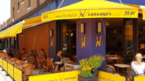 Mussels 'N Sausages ©Staub