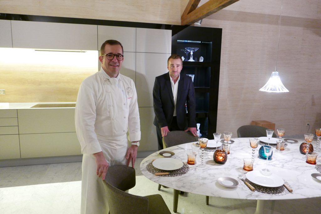 Nicolas Stamm et Serge Schaal et leur cuisine © GP