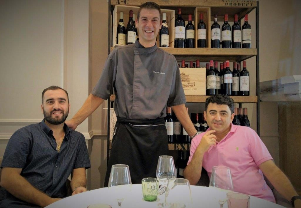 Sacha, Patrick et Georges ©AA