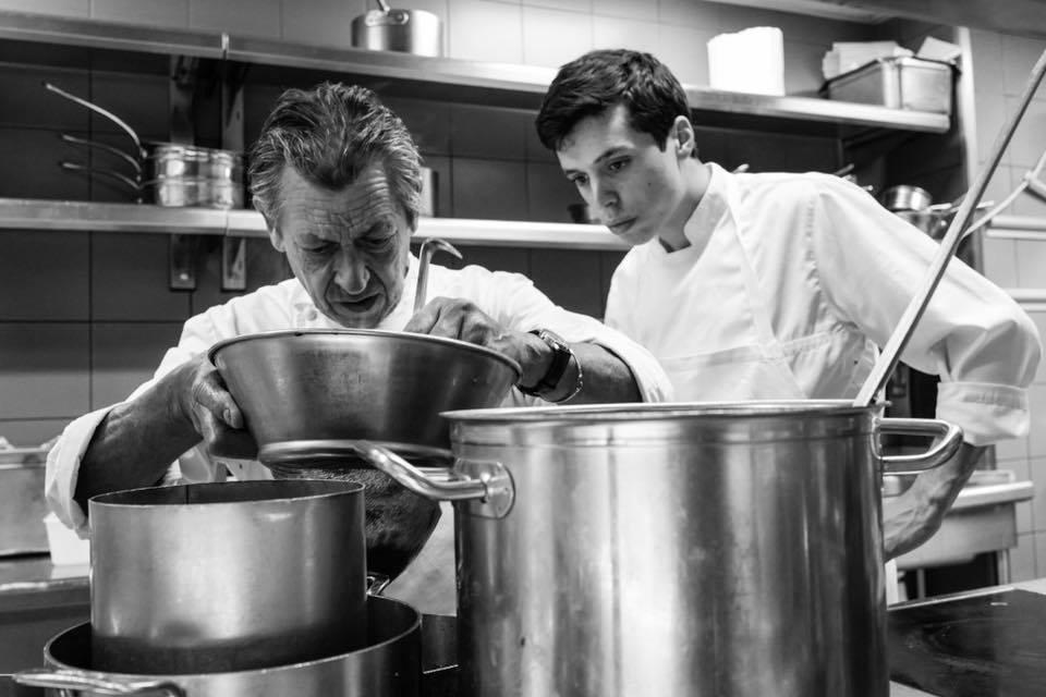 Maximin en cuisine au Lucas © SR