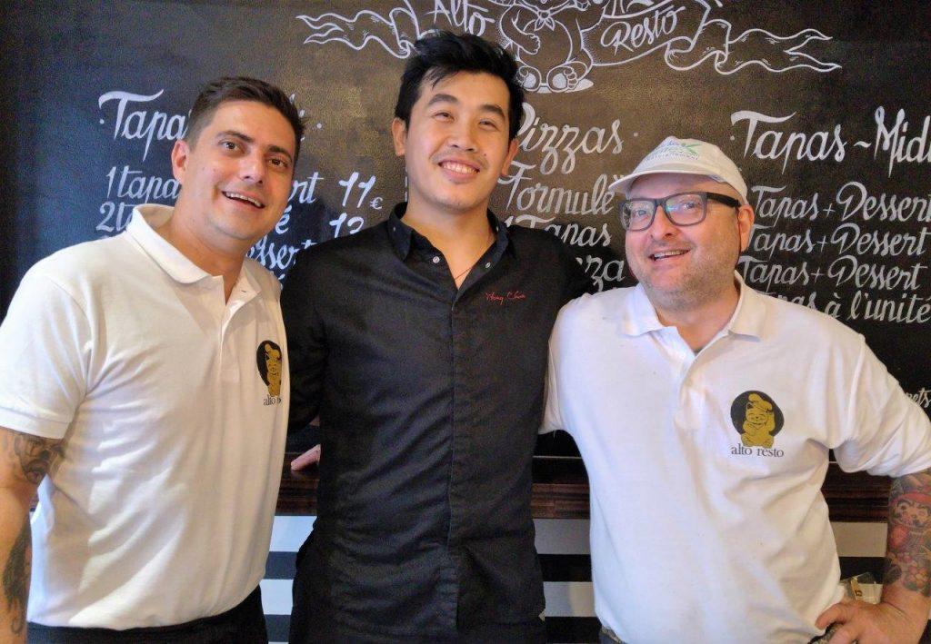 Christophe, Chun et Stefano ©AA