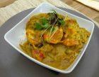 Curry vert de gambas © AA