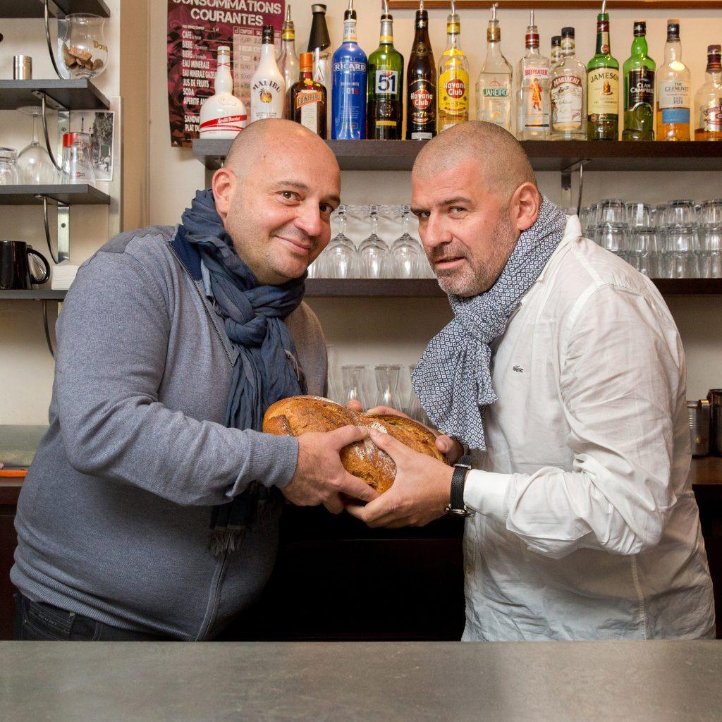Stéphane Bertignac et Christian Etchebest ©Patrick Lazic