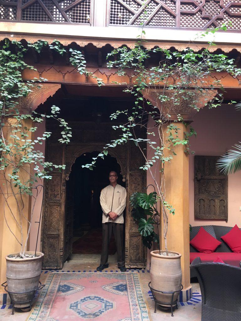 Au patio © GP