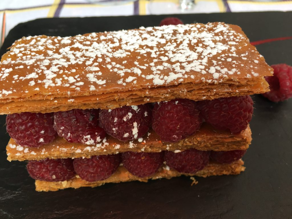 Mille-feuille framboises © GP