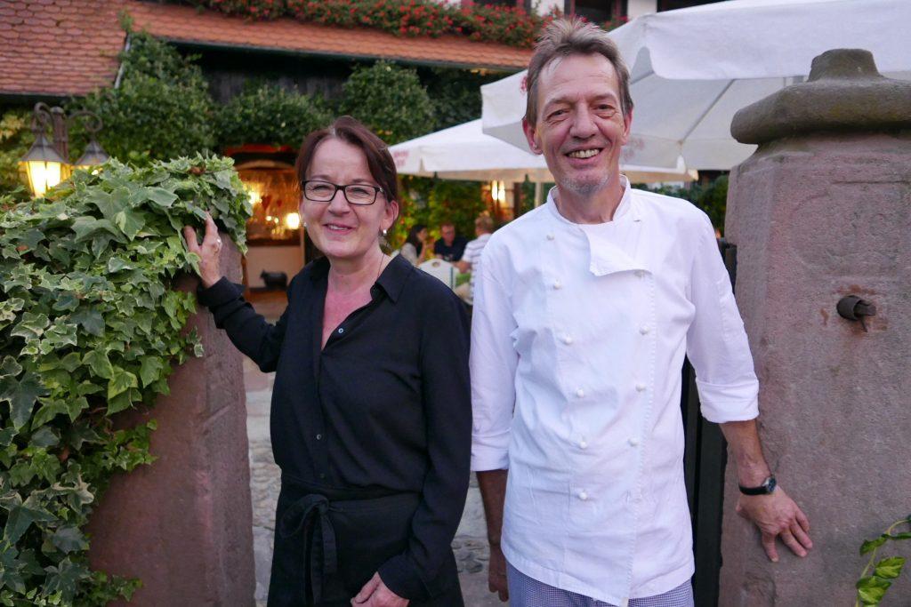 Suzie et Claude Lelièvre © GP