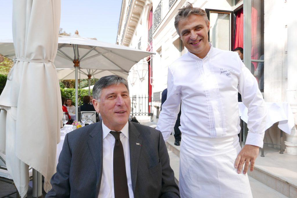 Didier Le Calvez avec Jérôme Banctel © GP