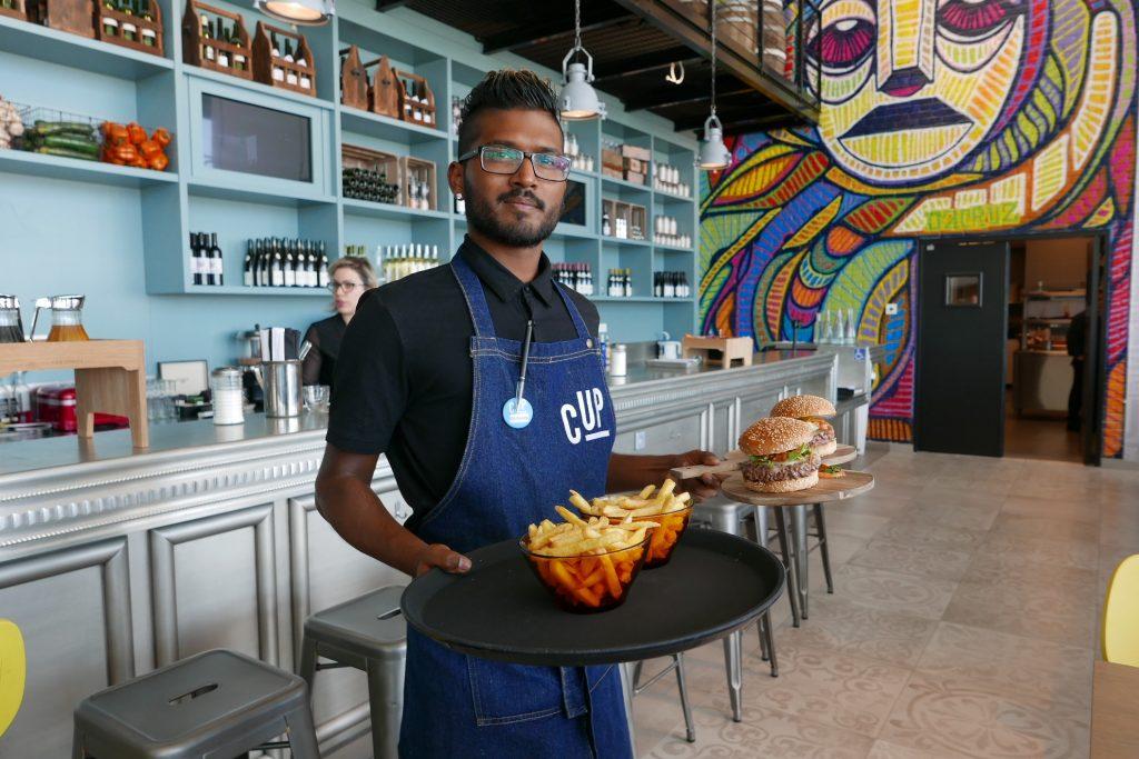 Service du burger © GP