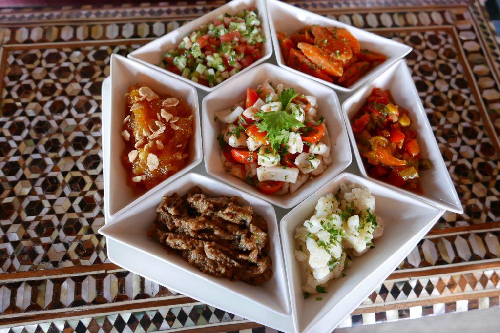 Salades marocaines © GP