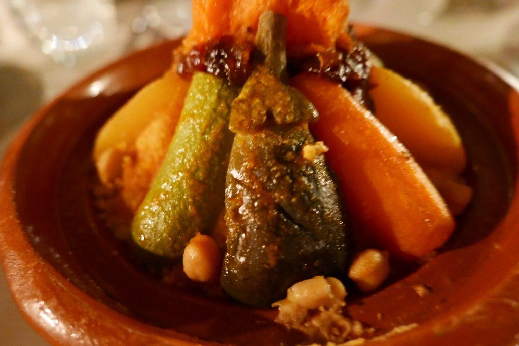 Couscous végétarien © GP