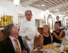 Quand Miche Guérard explique son menu ©GP
