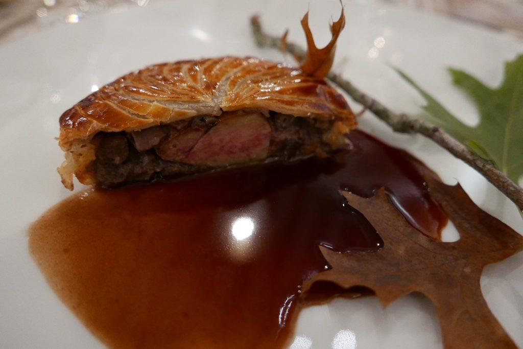 Tourte de volaille au foie gras © GP