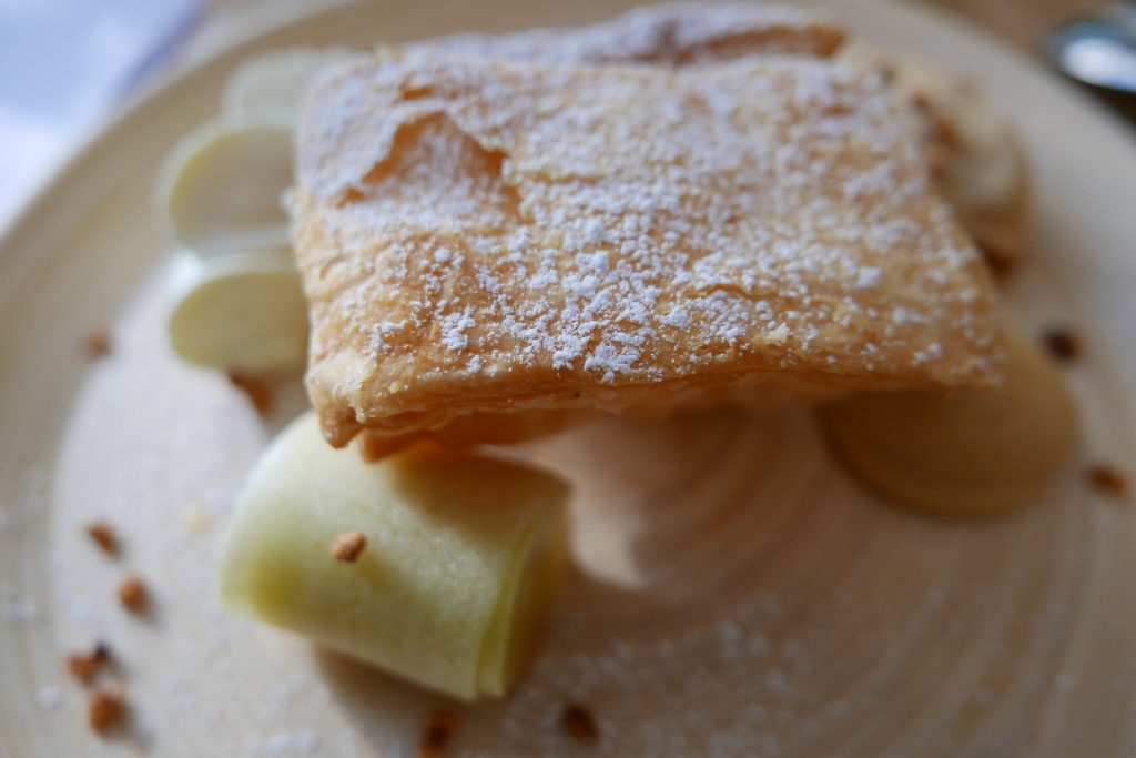 Tombé de millefeuille de pommes ©GP