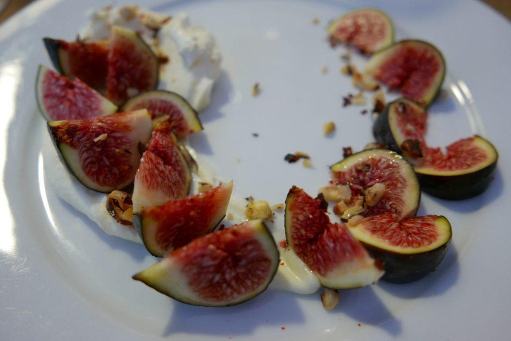 Figues, mascarpone, miel © GP