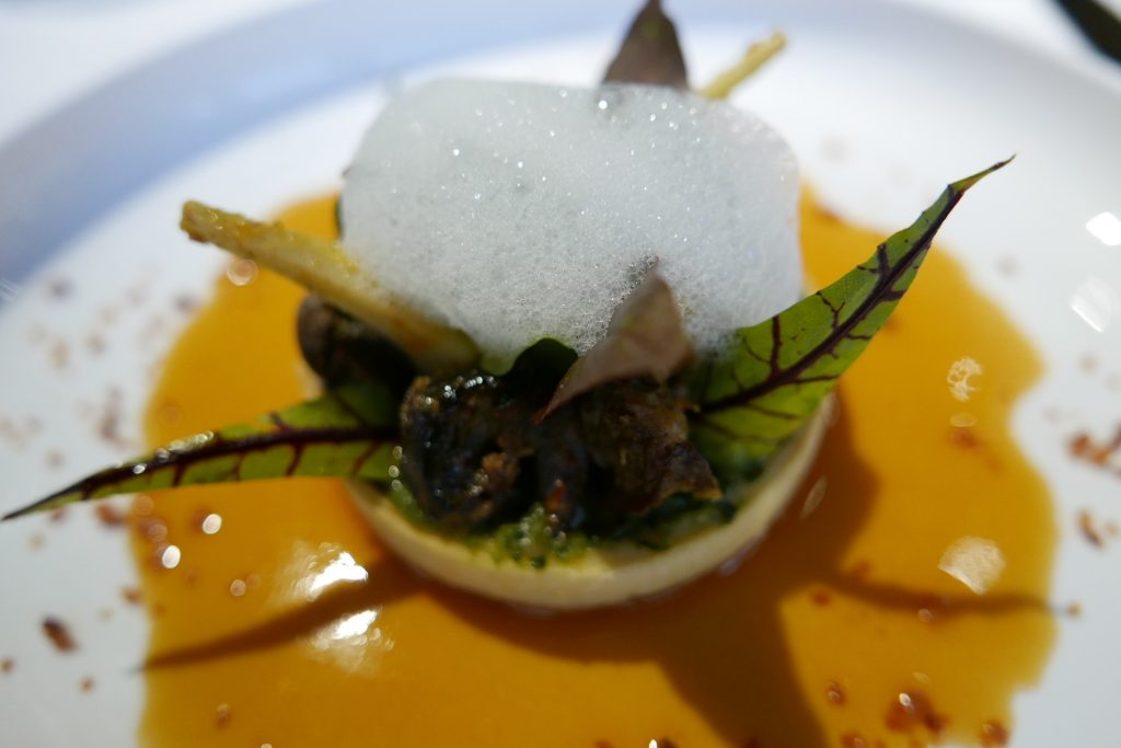 Tartelette aux escargots © GP