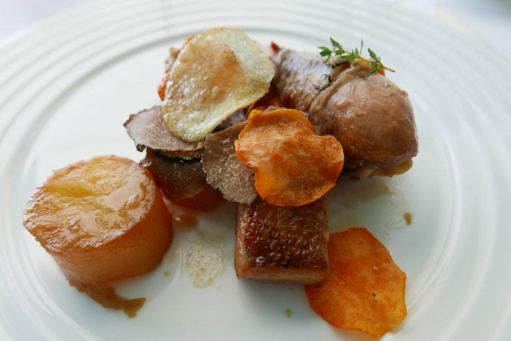 Poulette noire aux truffes © GP