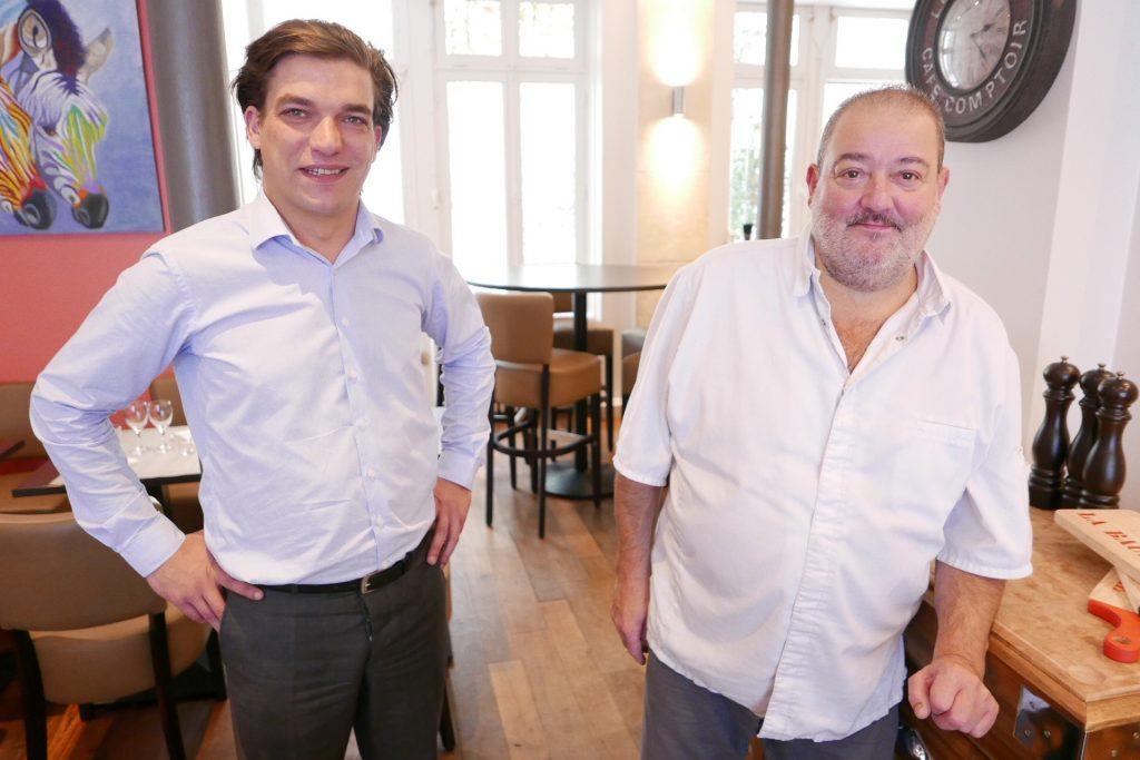 Alexandre Lallemode et Alain Carrère ©GP