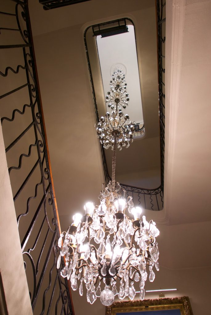 Grand escalier © GP