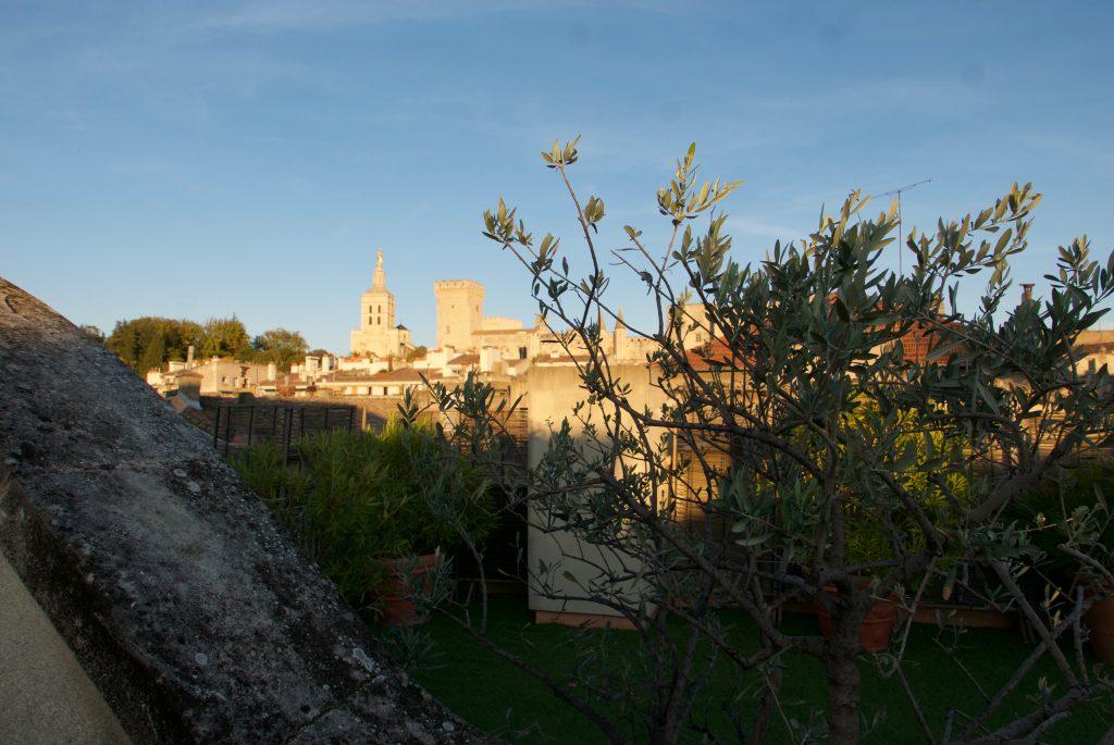 Vue depuis une terrasse ©GP