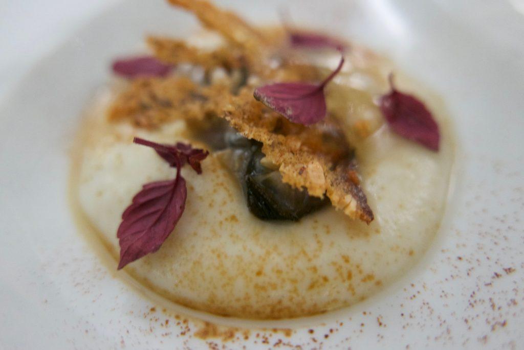 Huître, chou fleur, arabica © GP