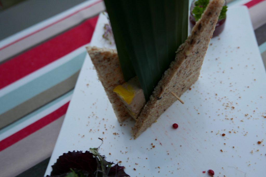 Foie gras au chutney de quetsches ©GP