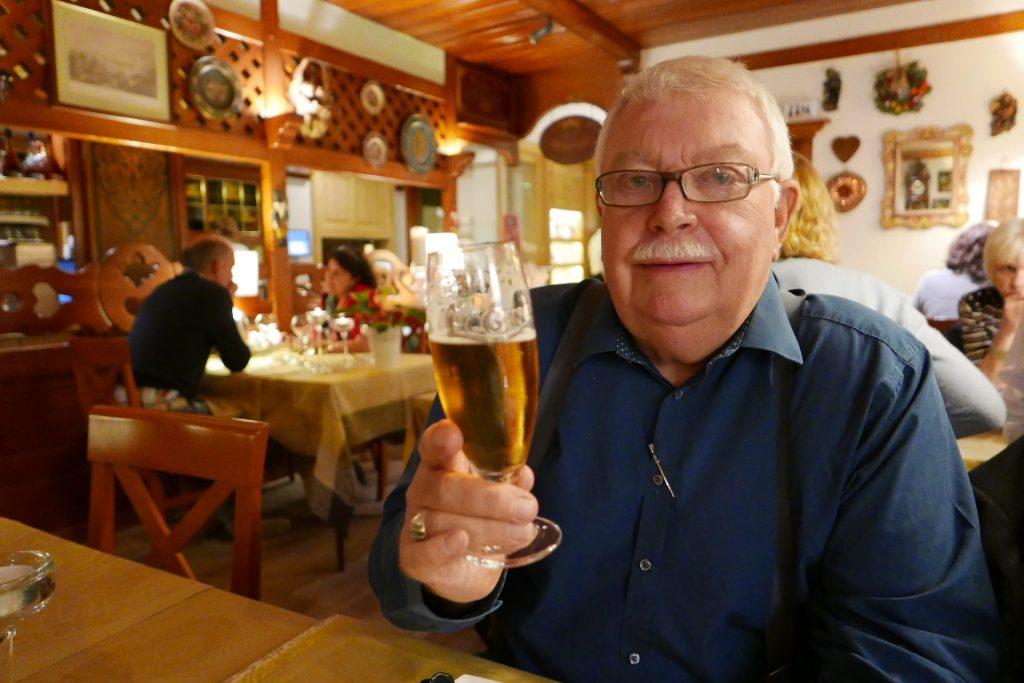 Un client et sa bière © GP