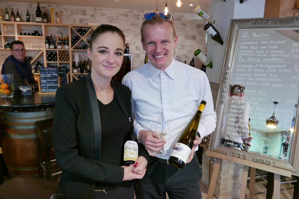 Christine Lauffenburger et Stéphane Knecht © GP