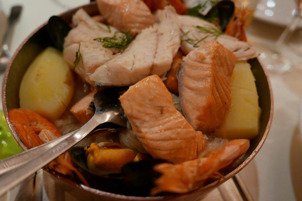 Choucroute de poissons © GP
