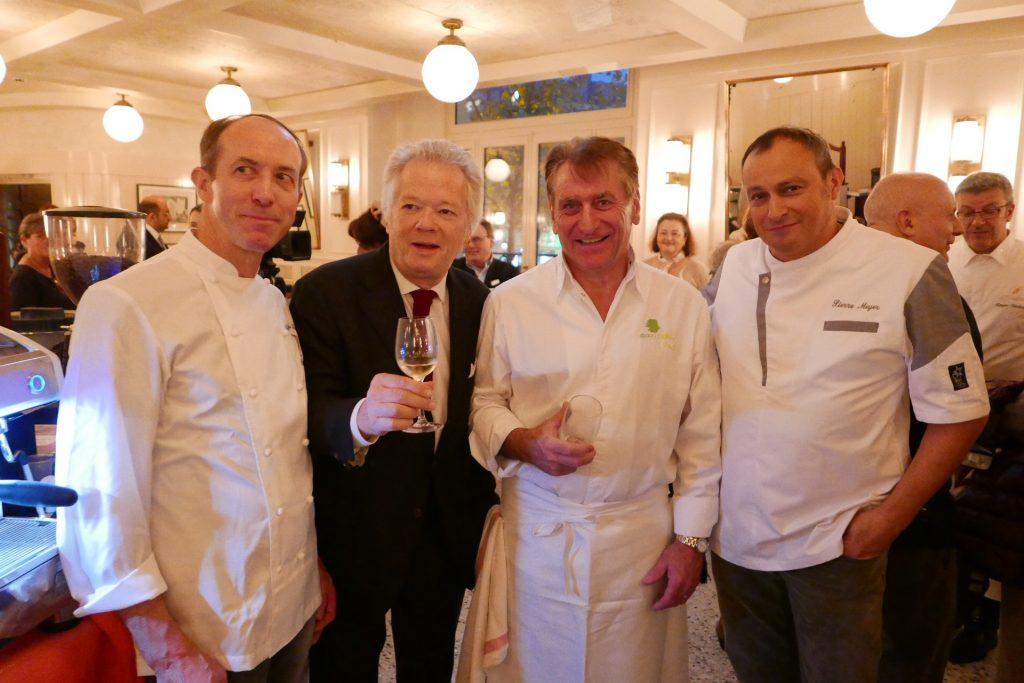 Avec Claude Fuchs, Jacques Bruckmann, Pierre Meyer © LS