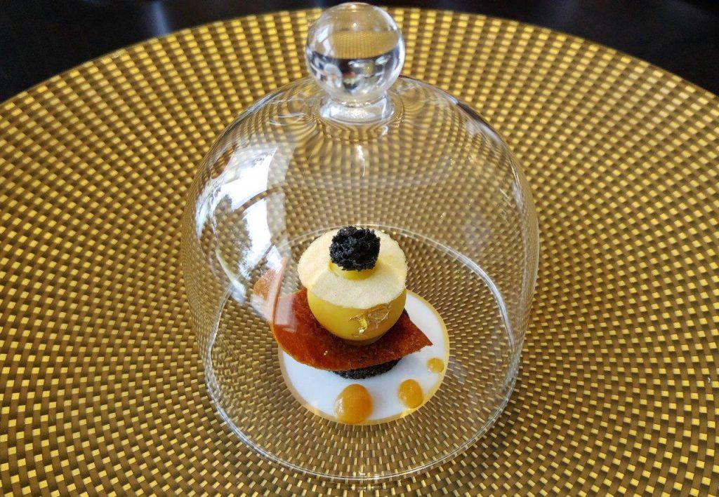 Sphère de foie gras ©AA