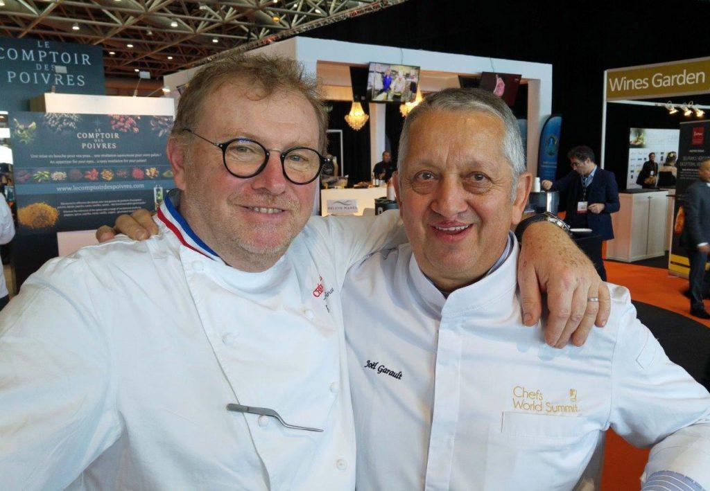 Bernard Leprince et Joël Garault © AA